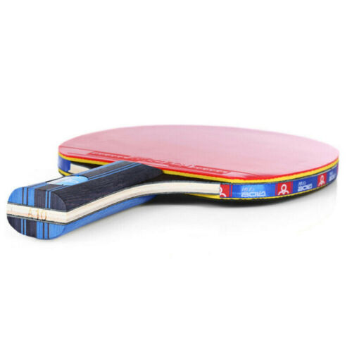 Set Ping-Pong-Paddel Tisch Profi Schläger Bälle Gummiholz Sport Indoor