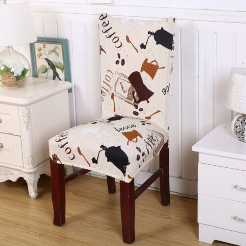 Dining Chair Cover Elastic Piece Chair Set Stool Set Hotel Office Party Decor