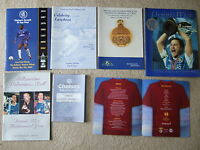 official chelsea fc dennis wise 10 years of dedication brochure