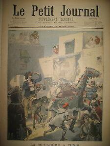 MI-CAREME-CARNAVAL-TUNISIE-TUNISIE-REINE-RANAVALO-A-ALGER-LE-PETIT-JOURNAL-1899