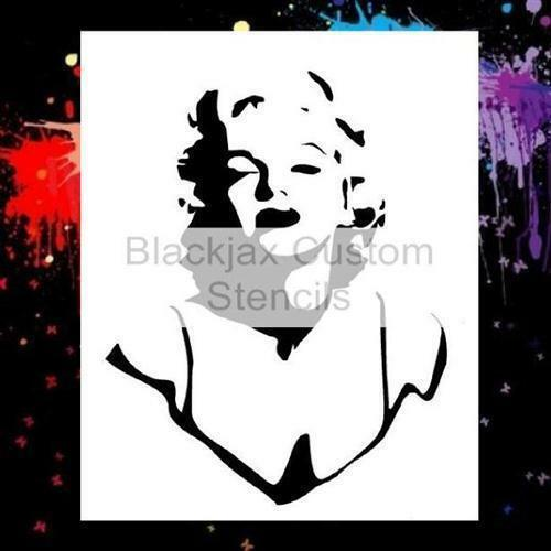 Marilyn Monroe 02 Airbrush Stencil,Template
