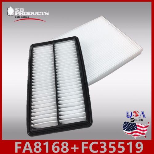 FA8168 FC35519 CA11712 CF10134 ENGINE /& CABIN AIR FILTER ~ 2014-15 ACURA MDX 3.5