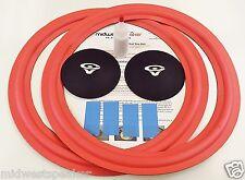 """Cerwin Vega 15"""" Foam Kit - ATW-15 Woofer  AT-15 Speaker w/ CV Logo Dust Caps!"""
