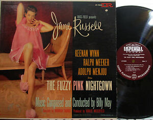 aab38c8eed Image is loading Fuzzy-Pink-Nightgown-Soundtrack-Imperial-sexy-JANE-RUSSELL-