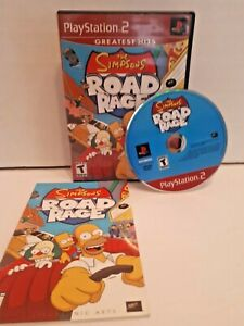 The-Simpsons-Road-Rage-Sony-Playstation-2-2001