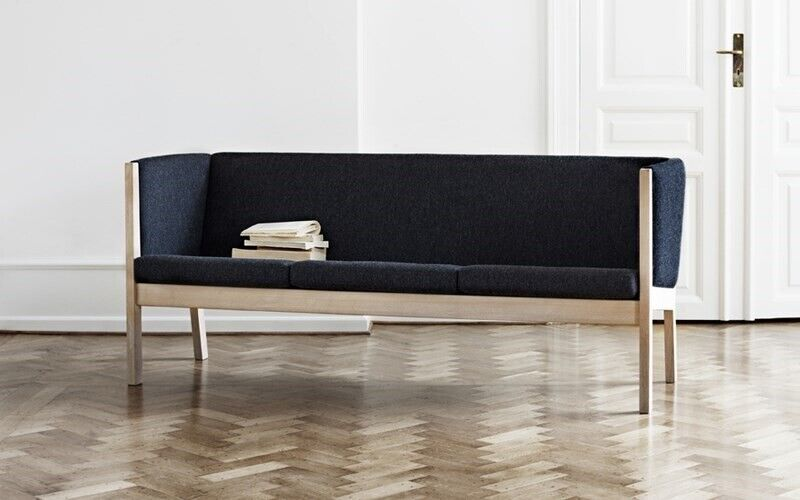 Hans J. Wegner, GE285 , 3 pers sofa grasis lev. Vælg farve og