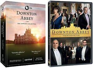 Downton Abbey: Complete Series Seasons 1-6 + Movie (DVD, 2019) Bundle New Set