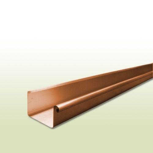 Kupfer Kastendachrinne RG 250 mm - Länge: 1,5 Meter