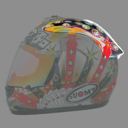Gamble design helmet Suomy SPEC-1R Extreme replacement top air diffuser