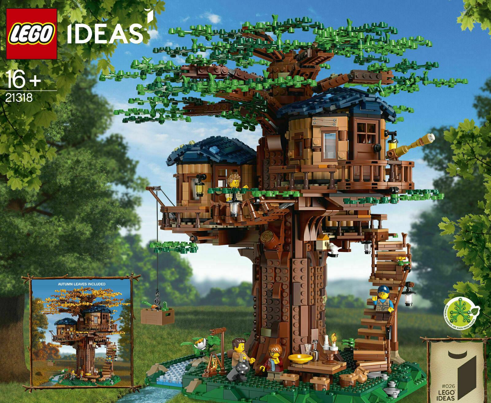 LEGO Ideas  21318 TREE  HOUSE Set Officially Licensed NIB Sealed US Seller  vente en ligne