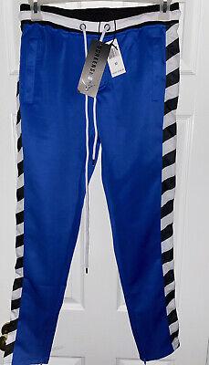 Athletic Jogger Bottom with Side Taping Streetwear SCREENSHOT Mens Hip Hop Premium Slim Fit Urban Track Pants