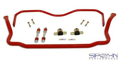 """1.375"""" Front & 1.00"""" Rear Chrome Moly Sway Bars Set 