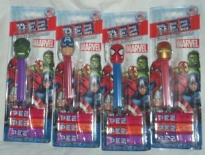 choose By Name From Drop Down Below Big Clearance Sale Characters & Dolls Marvel Avengers Pez Dispenser