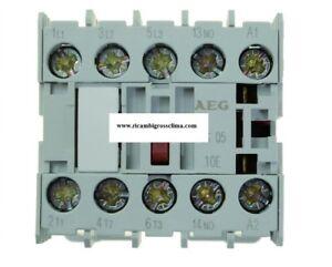 Ambitieux Contattore Teleruttore Aeg Ls05 9a 230v 4kw 50/60hz