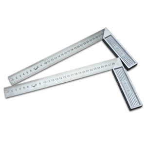 """Aluminum steel 300mm//12/"""" Engineers Try Square Set Right Angle Guide With Level"""