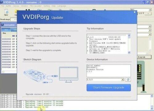 Latest 2019 Original Xhorse VVDI-PROG EEPROM Ecu Programmer