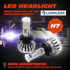 PHILIPS 80W 12000LM H7 LED Lampade Fari Lampadine Auto Headlight 6000K Bianca