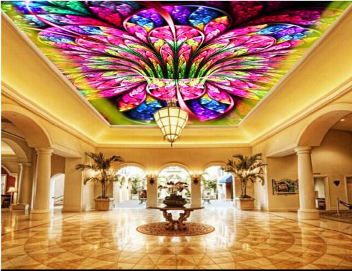 3D Petals Paint Paint Paint 43 Ceiling WallPaper Murals Wall Print Decal AJ WALLPAPER US 477bf1