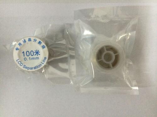 FILO METALLICO SOTTILE 0.1mm X SEPARAZIONE VETRI TOUCH LCD APPLE S4 S5 100 METRI