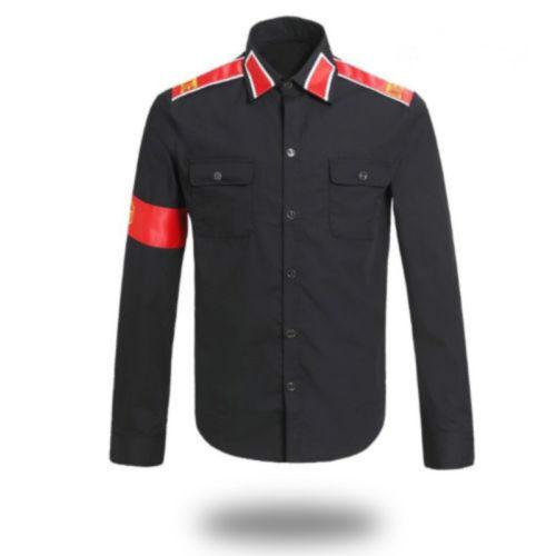 MJ Fans MJ Professional Cosplay MICHAEL JACKSON Costume CTE Style Shirt tops#32