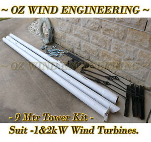 Tower-9mtr-Kit-Wind-Turbine-Generator