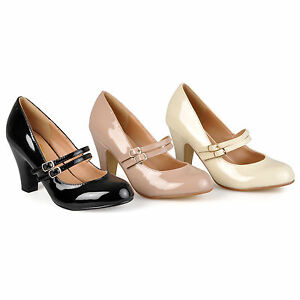 Journee-Collection-Womens-Wide-Width-Mary-Jane-Pumps-New