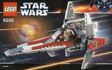 NEW LEGO Star Wars 6205 V WING V-WING STARFIGHTER SEALED RARE XLNT STAR FIGHTER