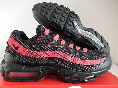 super popular 83c32 34c94 DS Men s Nike Air Max 95 Premium OG Shoes Red Black 538416-066 Size 13