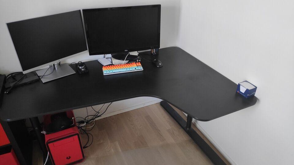 Skrive-/computerbord, b: 160 d: 110