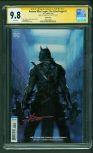 Batman-Who-Laughs-The-Grim-Knight-1-CGC-9-8-SS-Gabriele-Dell-039-Otto-Variant-Cover