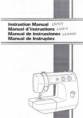 brother ls2125i owners manual