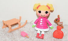 Lalaloopsy Mini Doll HOLLY SLEIGHBELLS Sew Snowy Complete Christmas