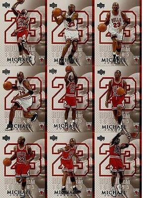 2005-06 UPPER DECK MICHAEL JORDAN SET 45 KARTEN NBA !!!!!! $$$$ RARE