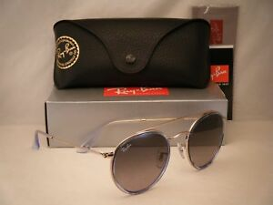 a6b8dff27b Ray Ban 3647N Round Double Bridge Copper w Grey Gradient Lens ...
