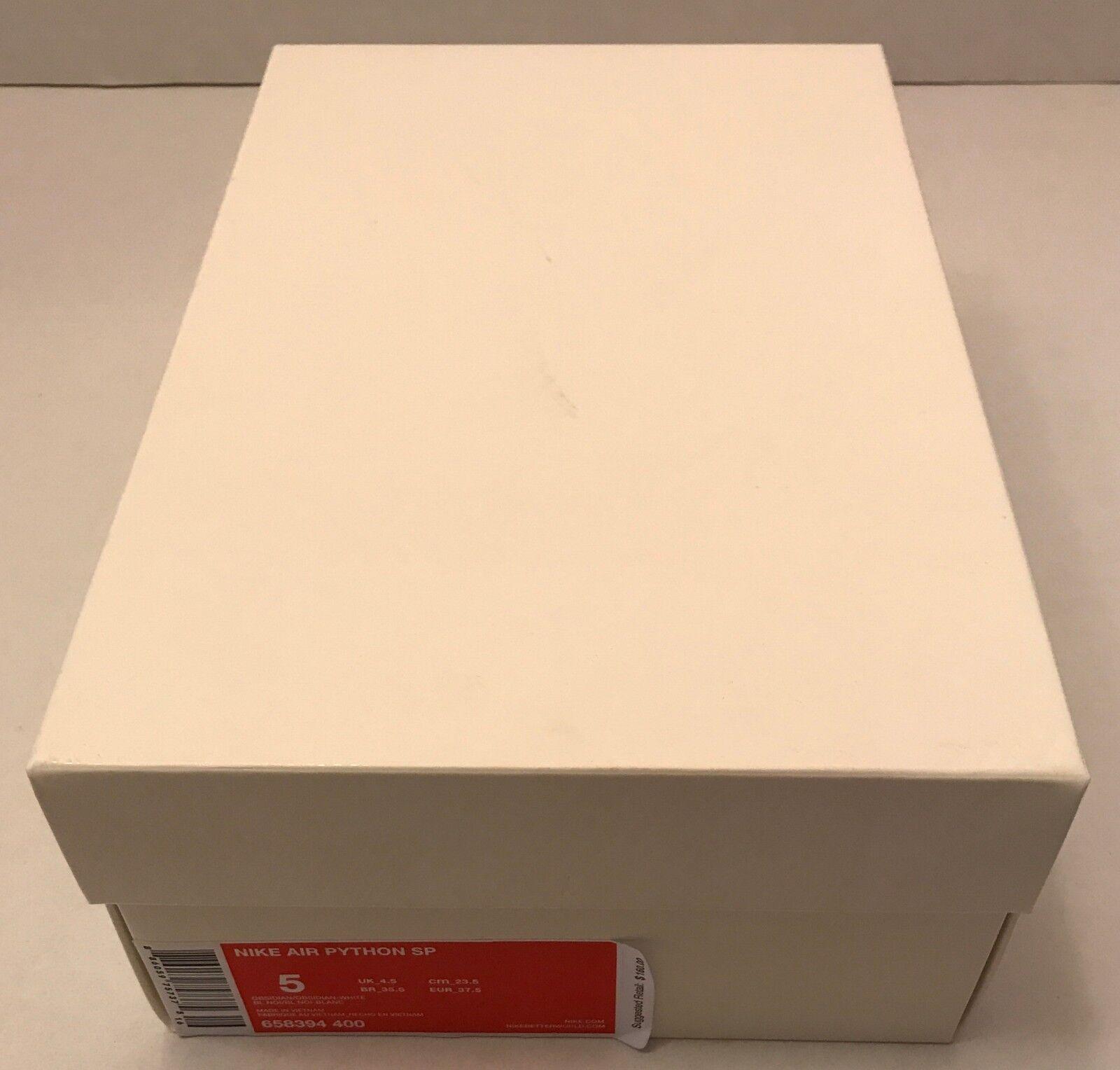 NIKE AIR PYTHON SP SP SP 658394-400 OBSIDIAN WHITE (MEN'S 5) c7ce4c