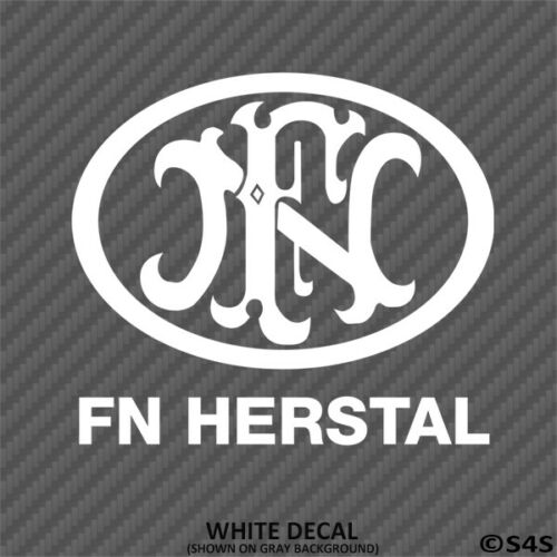 Choose Color FN Herstal Firearms Hunting//Outdoor Sports Vinyl Decal Sticker