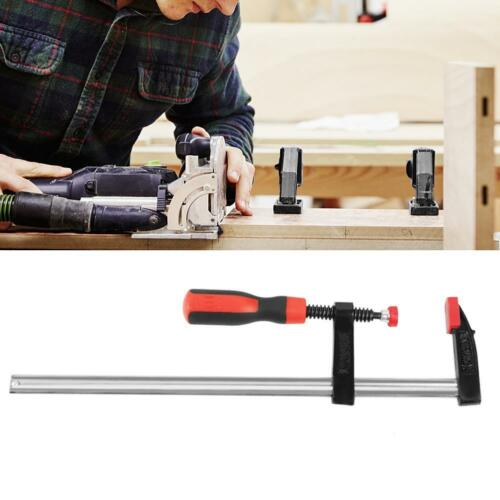 2//4Pcs Heavy Duty F Clamps Woodworking Bar Clips Quick Slide Hand Tool 150-600mm