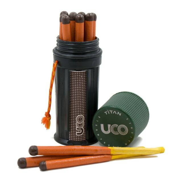 UCO Unisexs Titan Fire Striker One Size Black