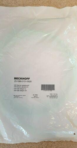 Beckhoff ZK1090-3131-0020 EtherCAT Buskabel 2m M8 Stecker 4pol.,PUR NEU OVP