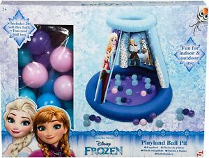 Spielzeug 100% Wahr Frozen Bällebad Kugelbad Mit 20 Bällen Für Innen Und Außen Exquisite Traditionelle Stickkunst Bälle