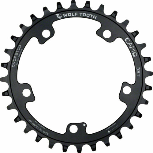 Wolf Tooth Components CAMO Al Round 32T Chainring
