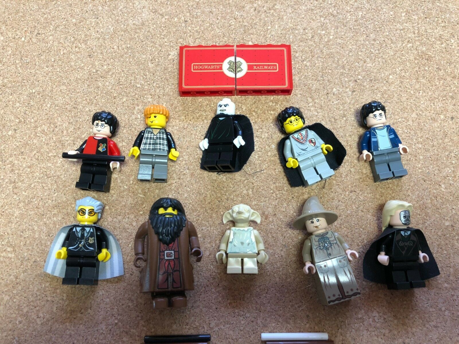 LEGO Harry Potter MINIFIG LOT of 10 MINIFIGS Dobby Sprout Lot S507B