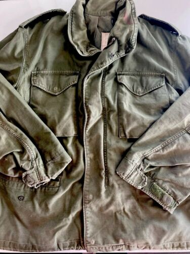 Vintage Alpha Industries Army Green Military Field