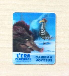 CARD KINDER MERENDINE -SERIE- L'ERA GLACIALE 4 -MINI CARD N°15 GABIEN & NOYOSUS cb36otJR-09120215-699645060