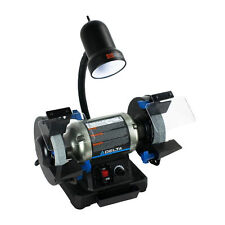 """Delta Woodworking 2.5 Amp 6"""" Variable-Speed Bench Grinder 23-196 New"""