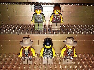LEGO Figur Dino Hero rotbrauner Motorradhelm dino001  5882 5887 5884 5885