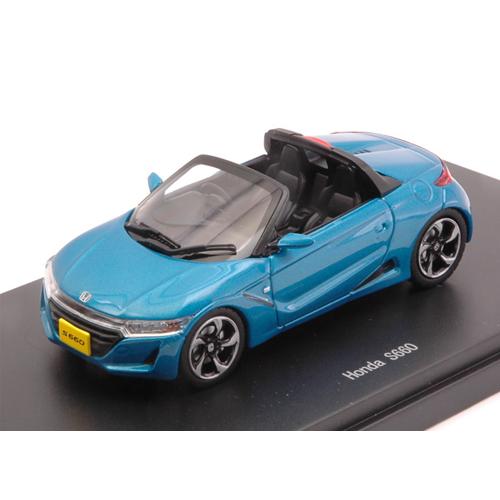 HONDA S660 2015 blu 1:43 Ebbro Auto Stradali Die Cast Modellino