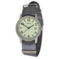 Aristo U-boot 3h27tgr Unisex Quarz Armbanduhr 10atm Textilarmband Swiss Movement