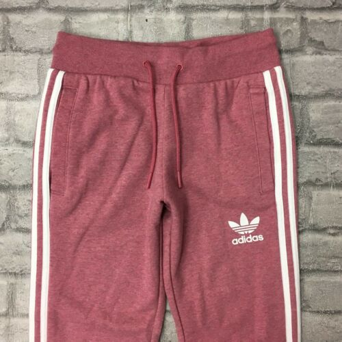 survêtement californien Adidas de 4 à Pantalon 3 Originals rayuresrose femmes Uk molleton en pour fy67gb