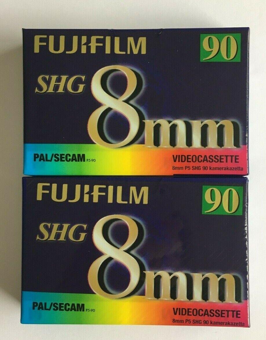 Fujifilm 8mm Video Cassette P5 SHG 90 2 New & Sealed
